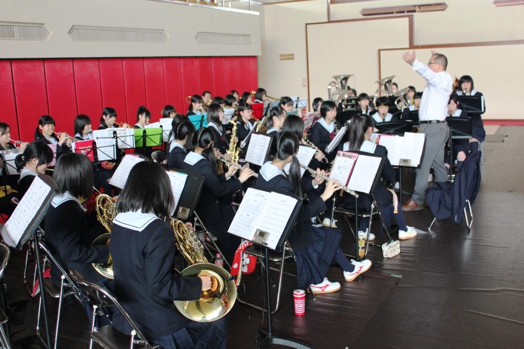 県高校総体開会式(H24)①