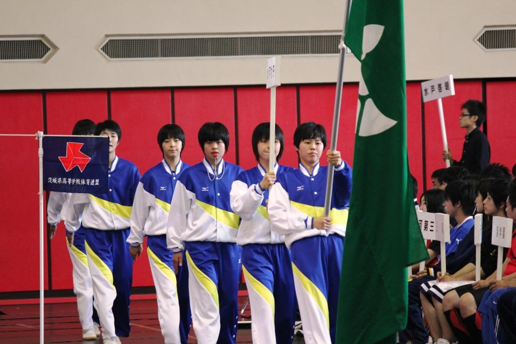 県高校総体開会式(H24)②