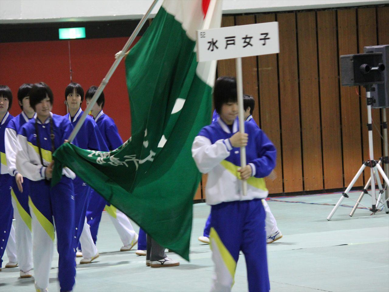 県高校総体開会式(H25)