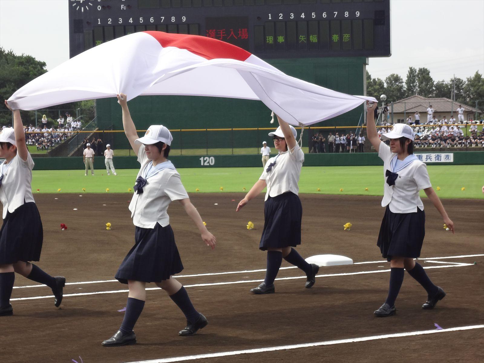 高校野球県開会式(H25)③