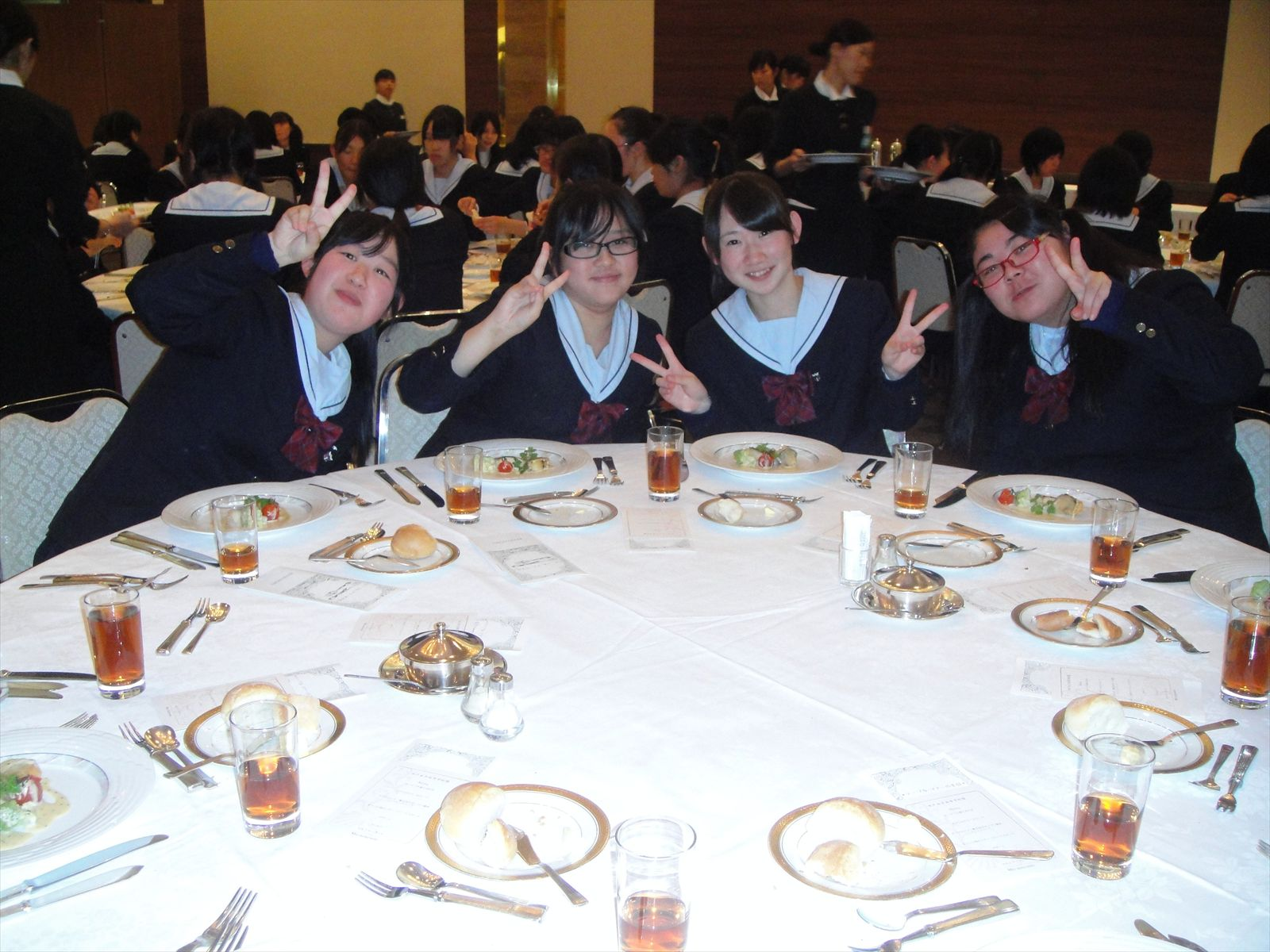 テーブルマナー講習会(H25)②