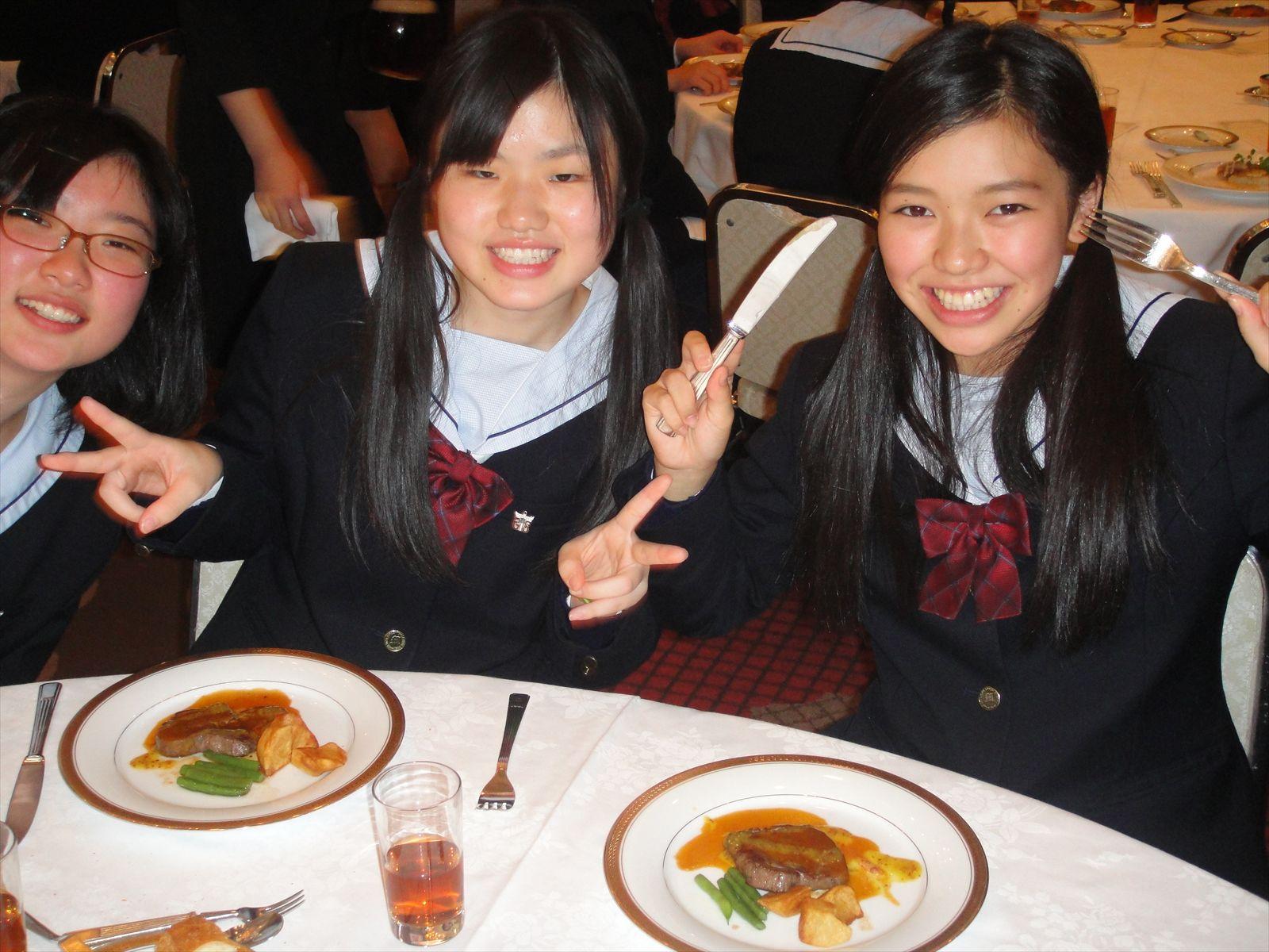 テーブルマナー講習会(H25)①