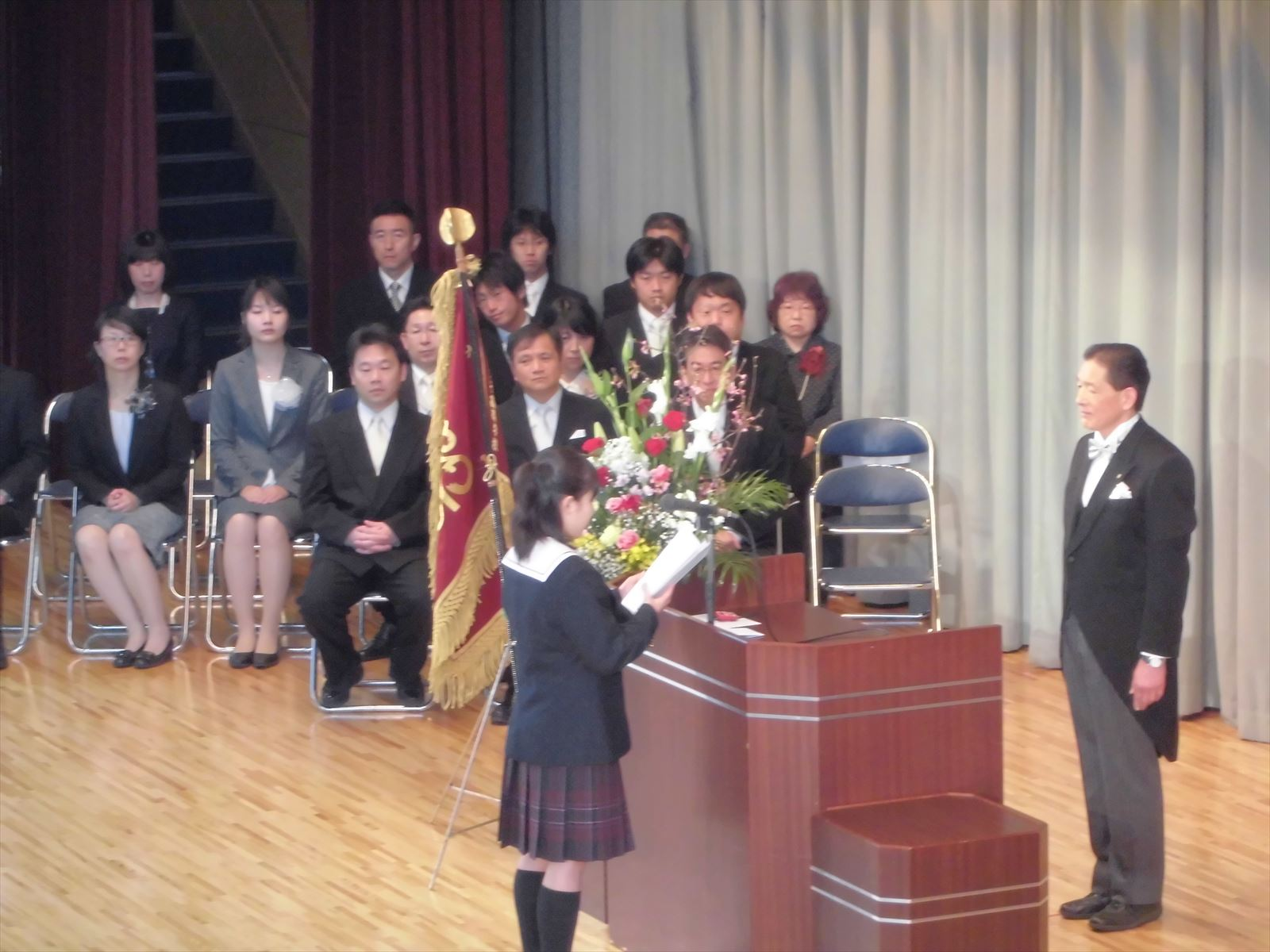 入学式(H27)②
