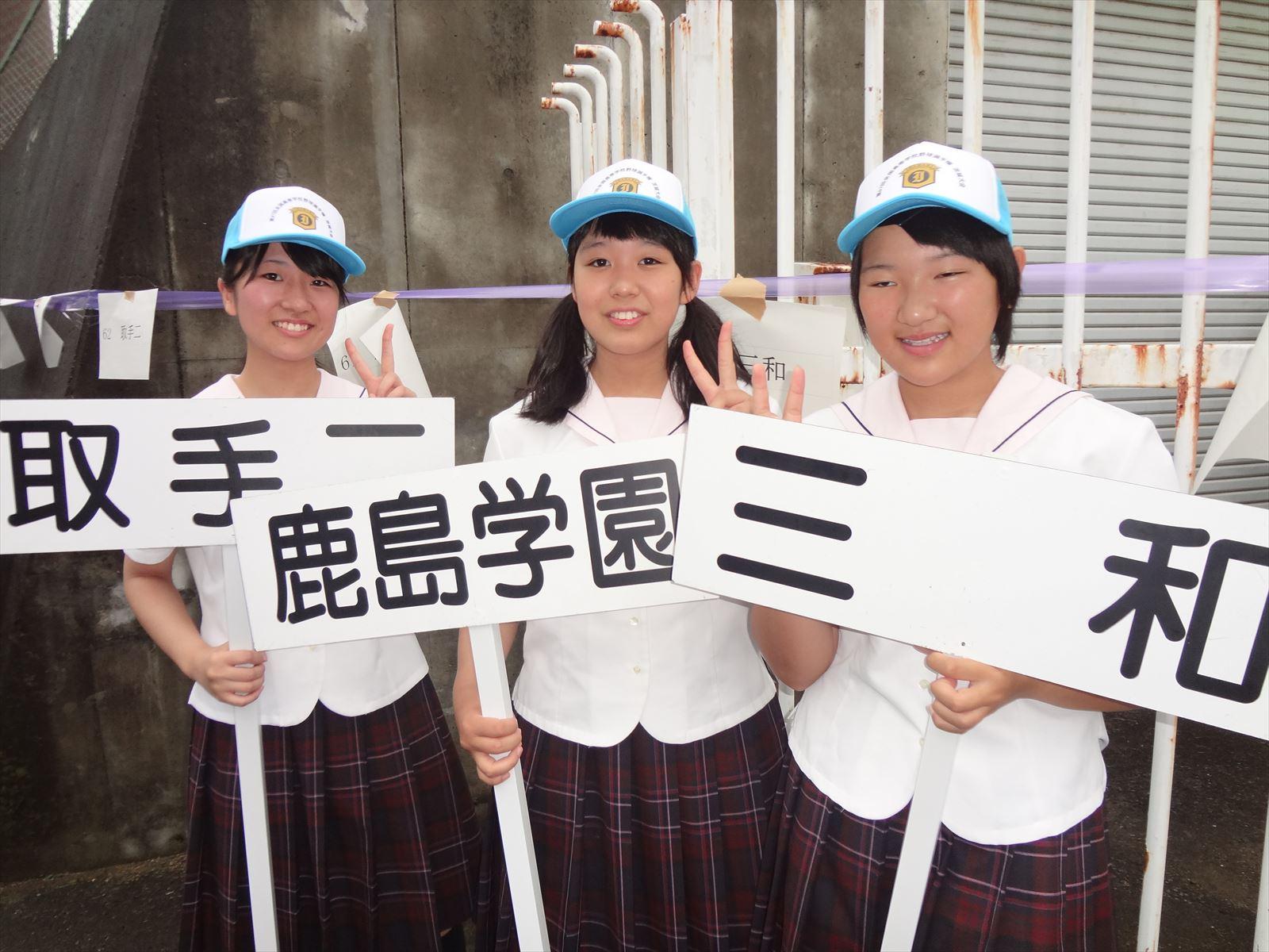 高校野球開会式(H27)⑥