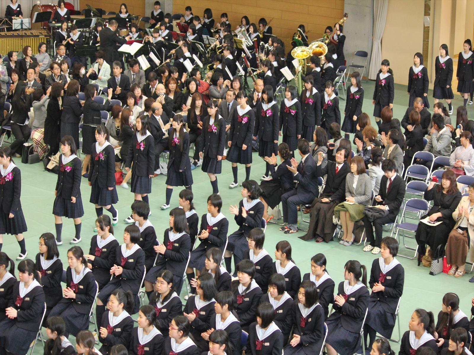 卒業式(H26)①