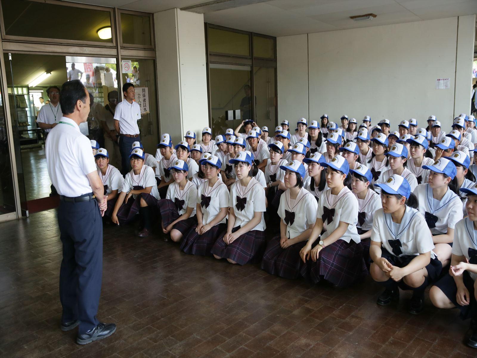 高校野球開会式(H28)①