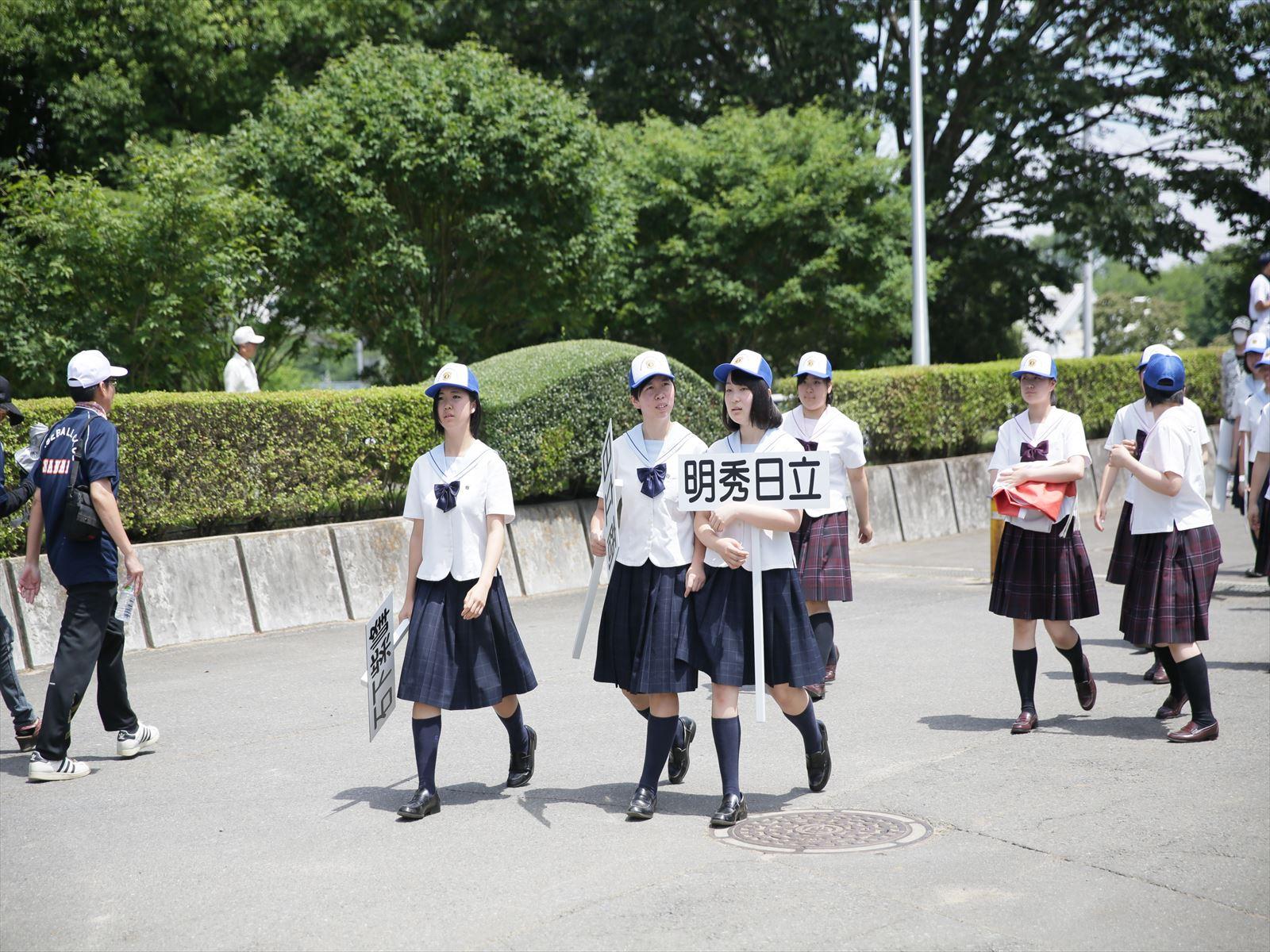高校野球開会式(H28)③