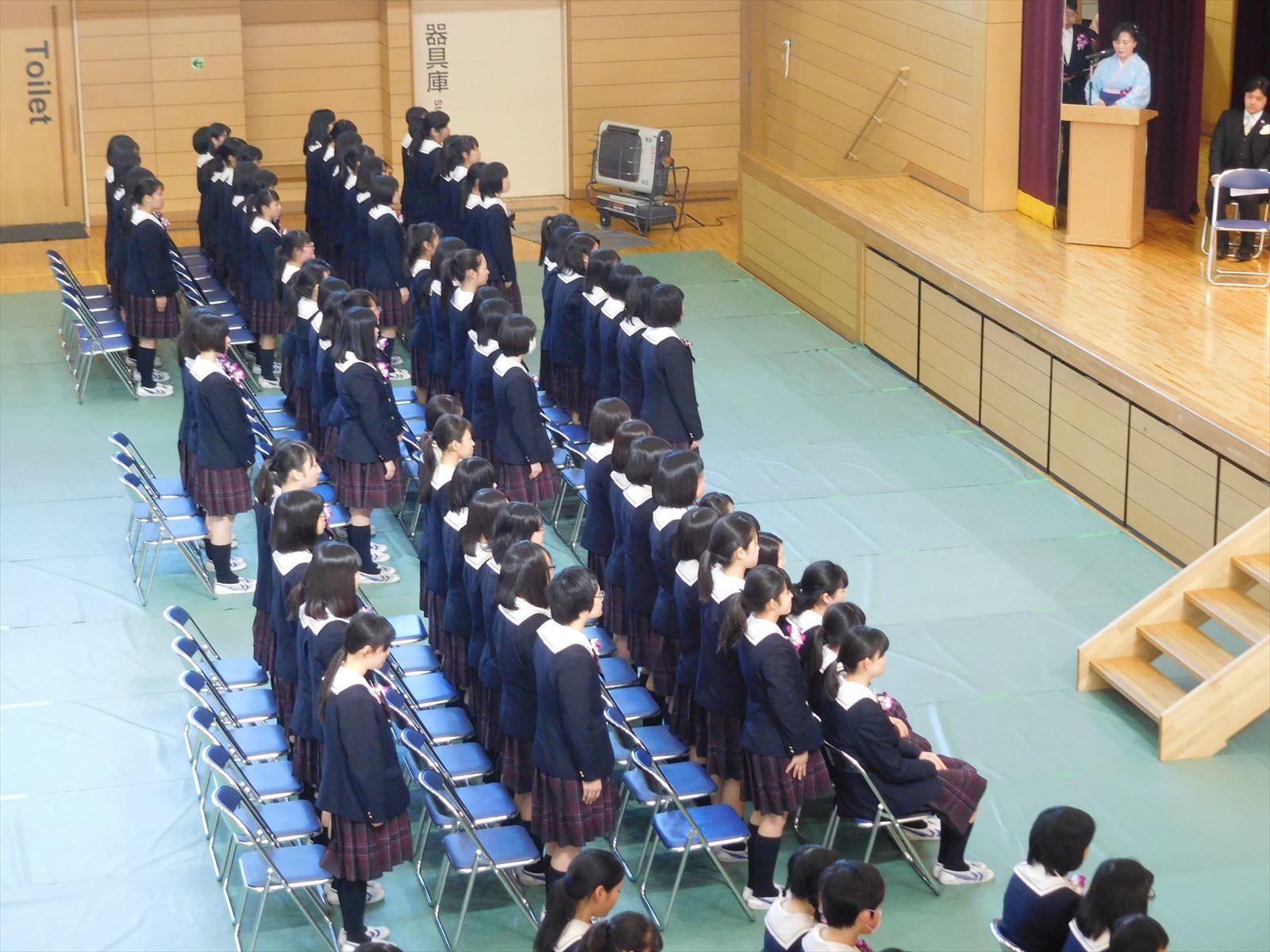 卒業式(H29)④