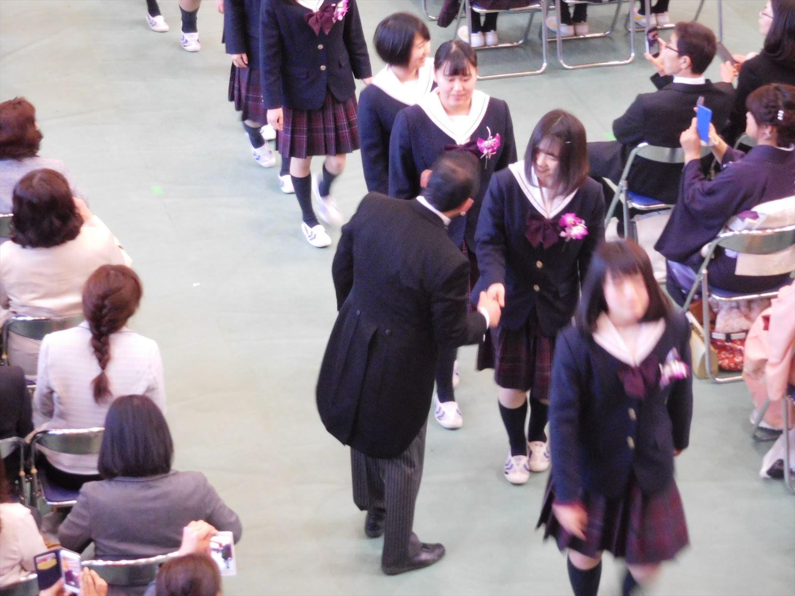 卒業式(H29)⑪