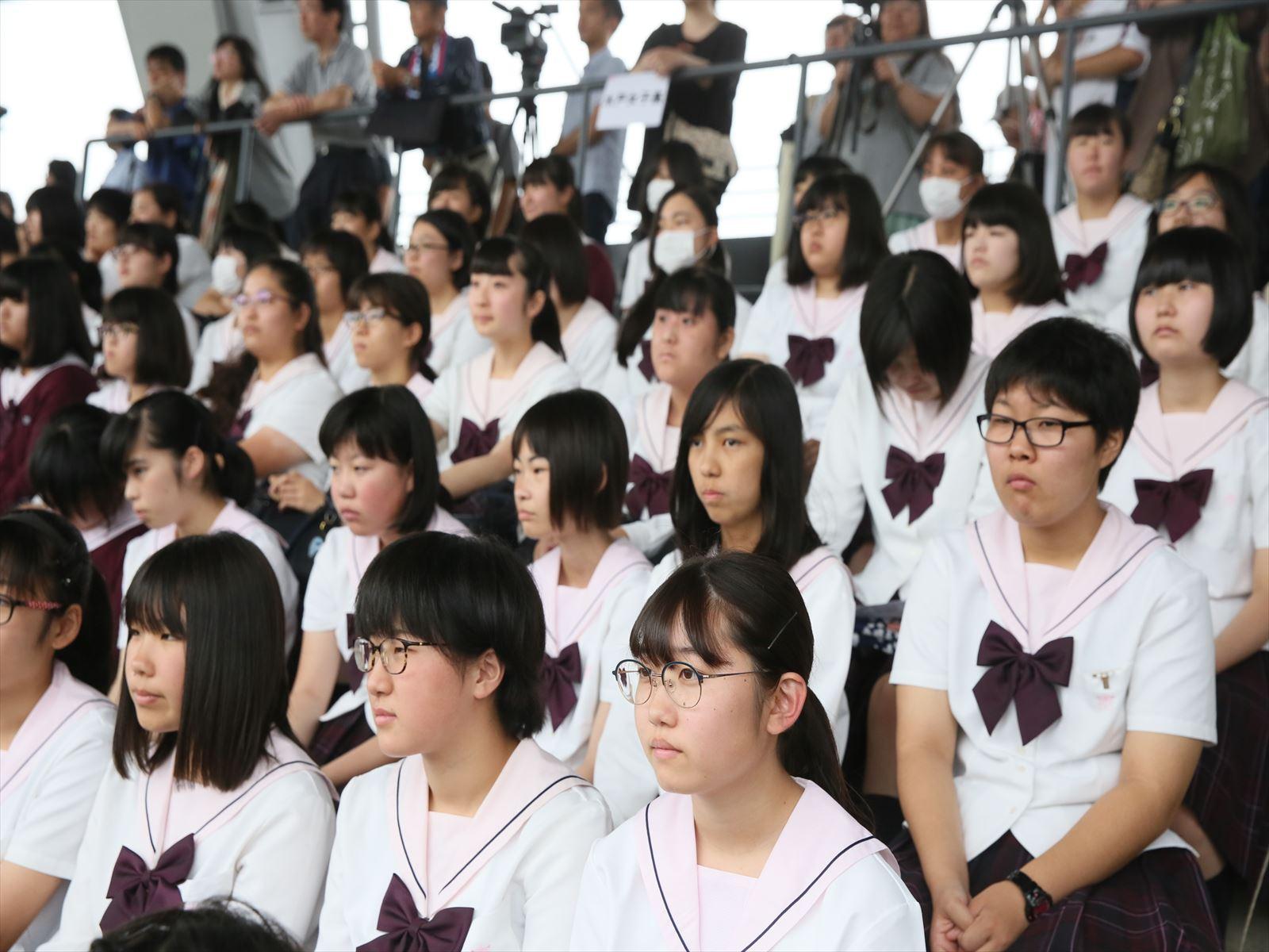 高校野球開会式(H30)③