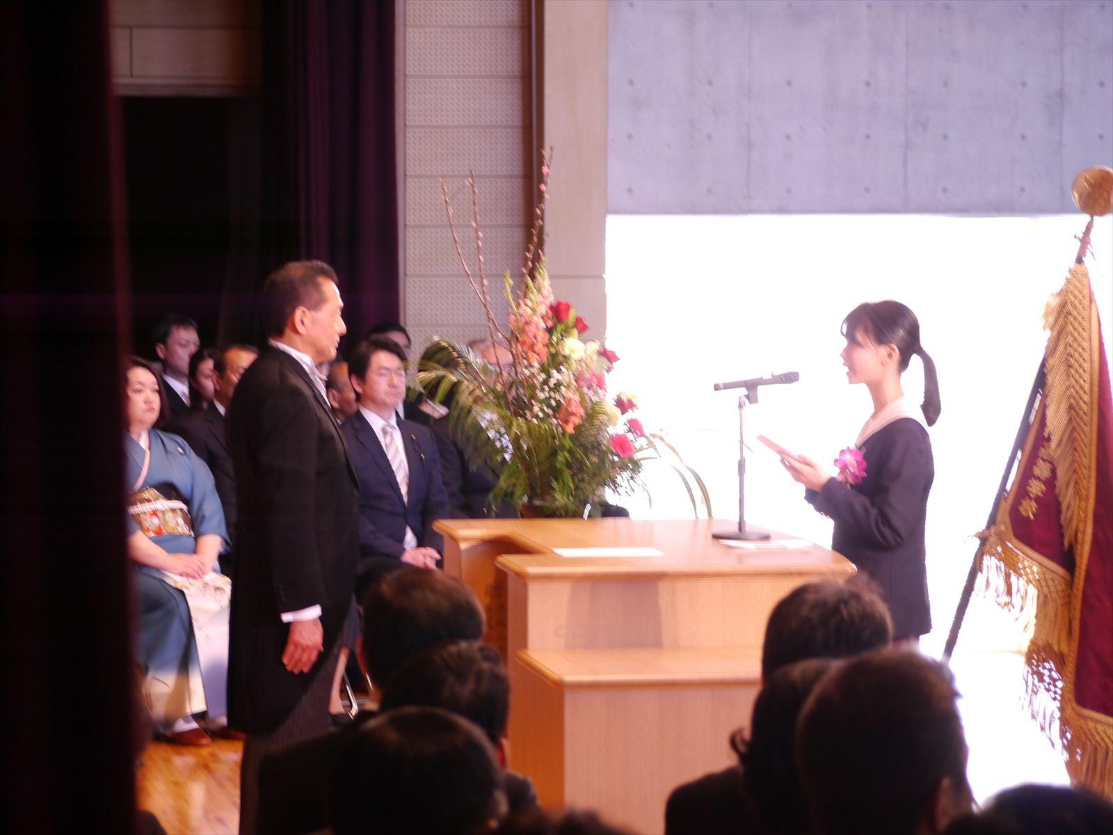 卒業式(H30)②