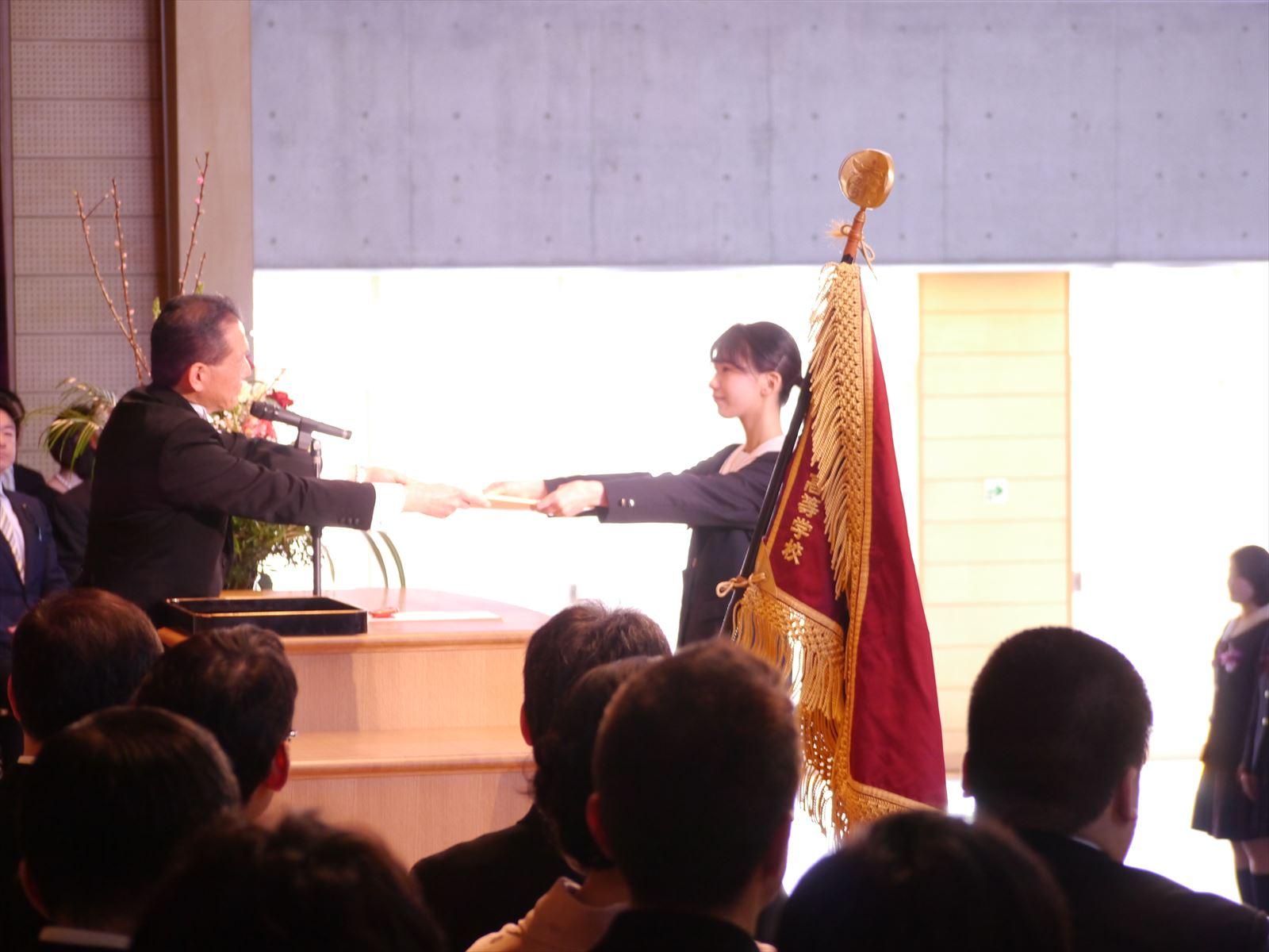卒業式(H30)①