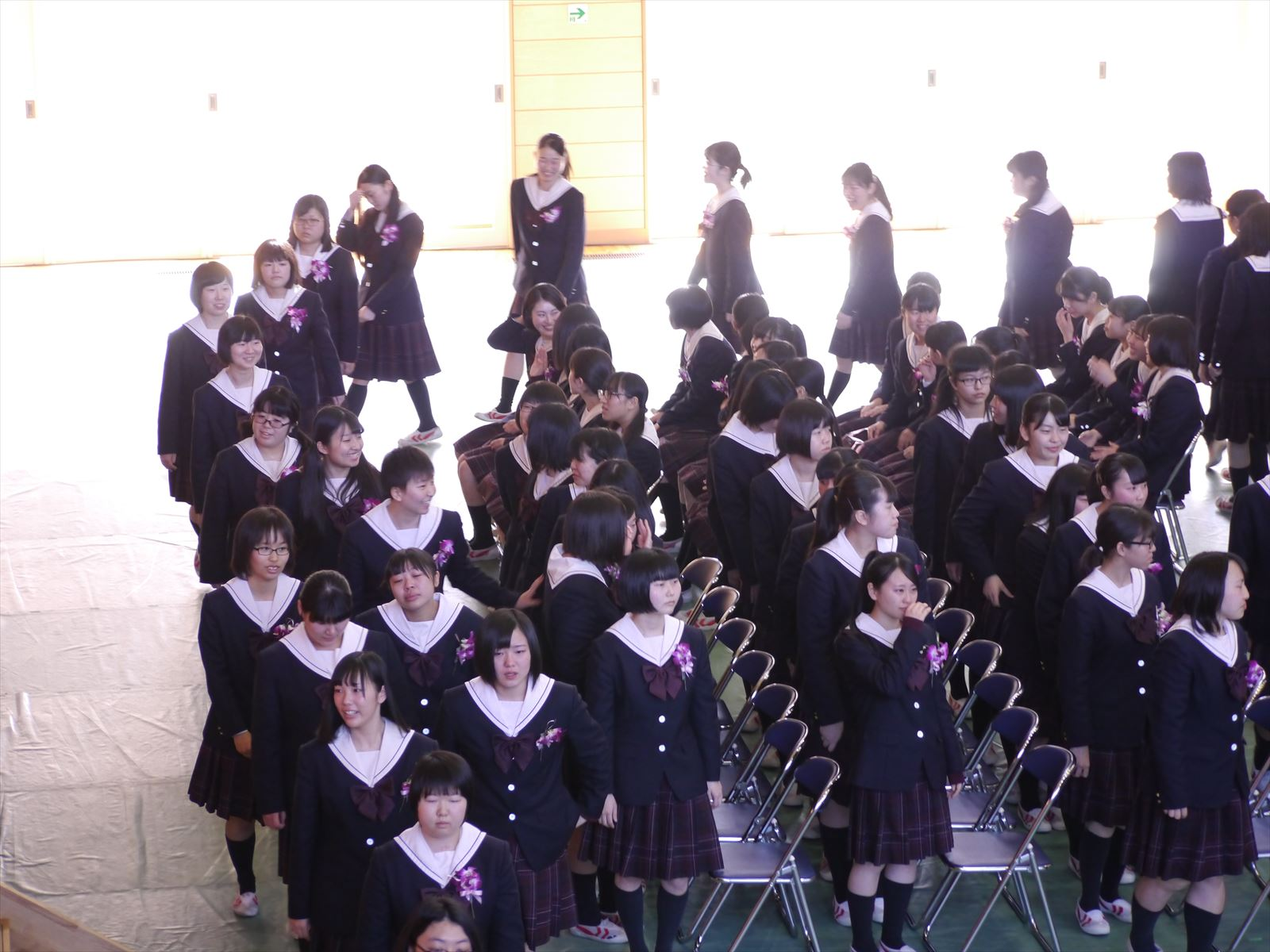 卒業式(H30)③
