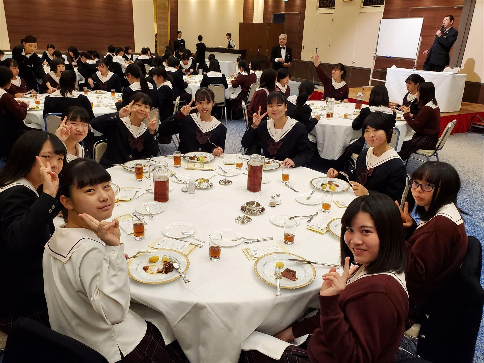 テーブルマナー講習会(R1)②