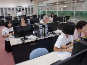 パソコン教室③